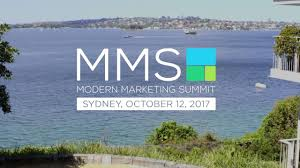MMS Summit – Sydney October 2017